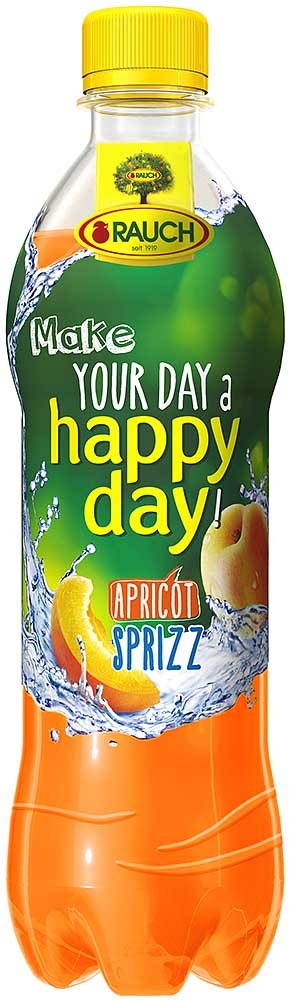 Rauch HAPPY DAY Apricot Spritzer 12 x 0,5l PET