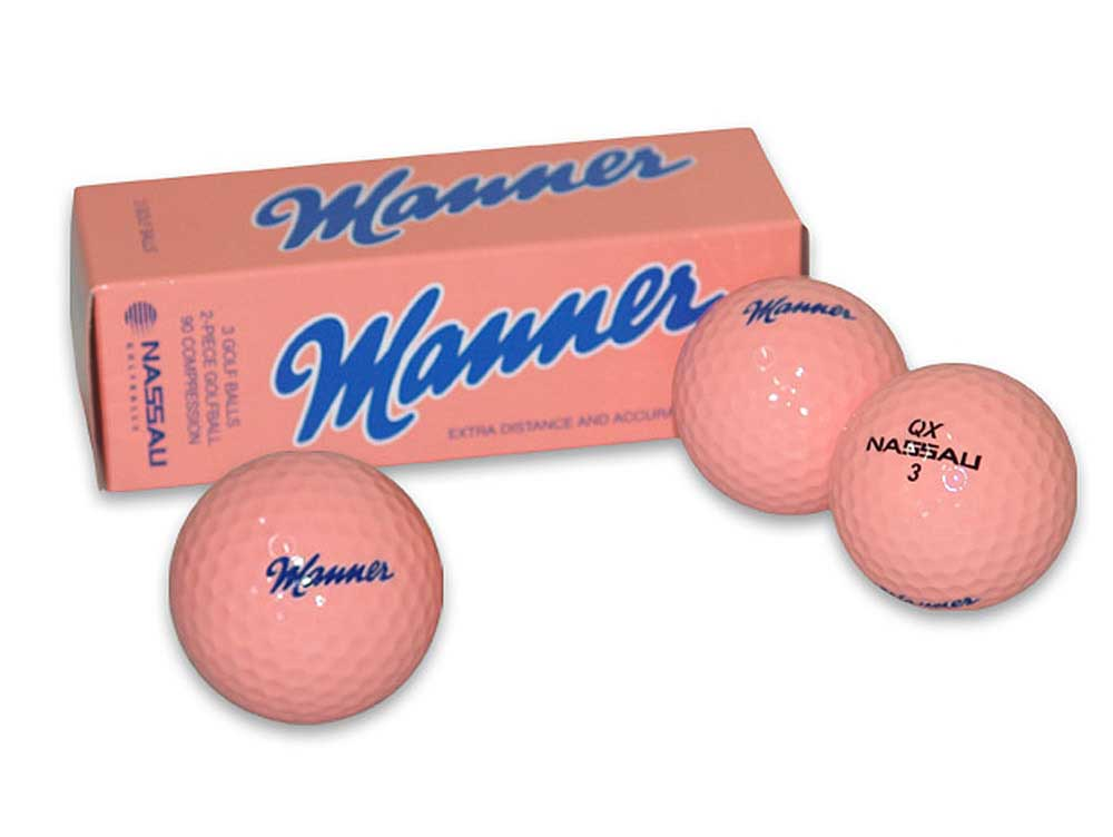 Manner Golfbälle 3er Set