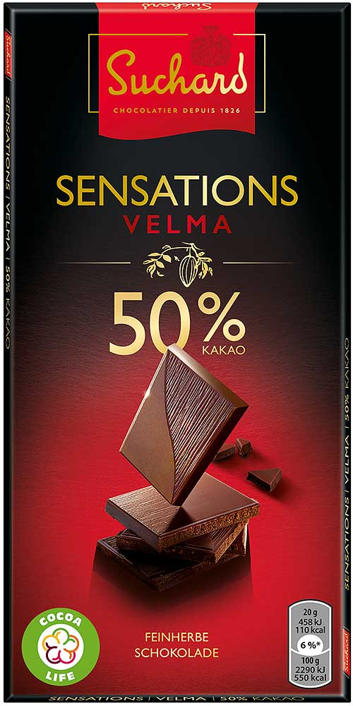Suchard Sensations Velma 50%