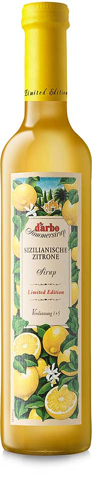 Darbo Sommersirup Sizilianische Zitrone Limited Edition