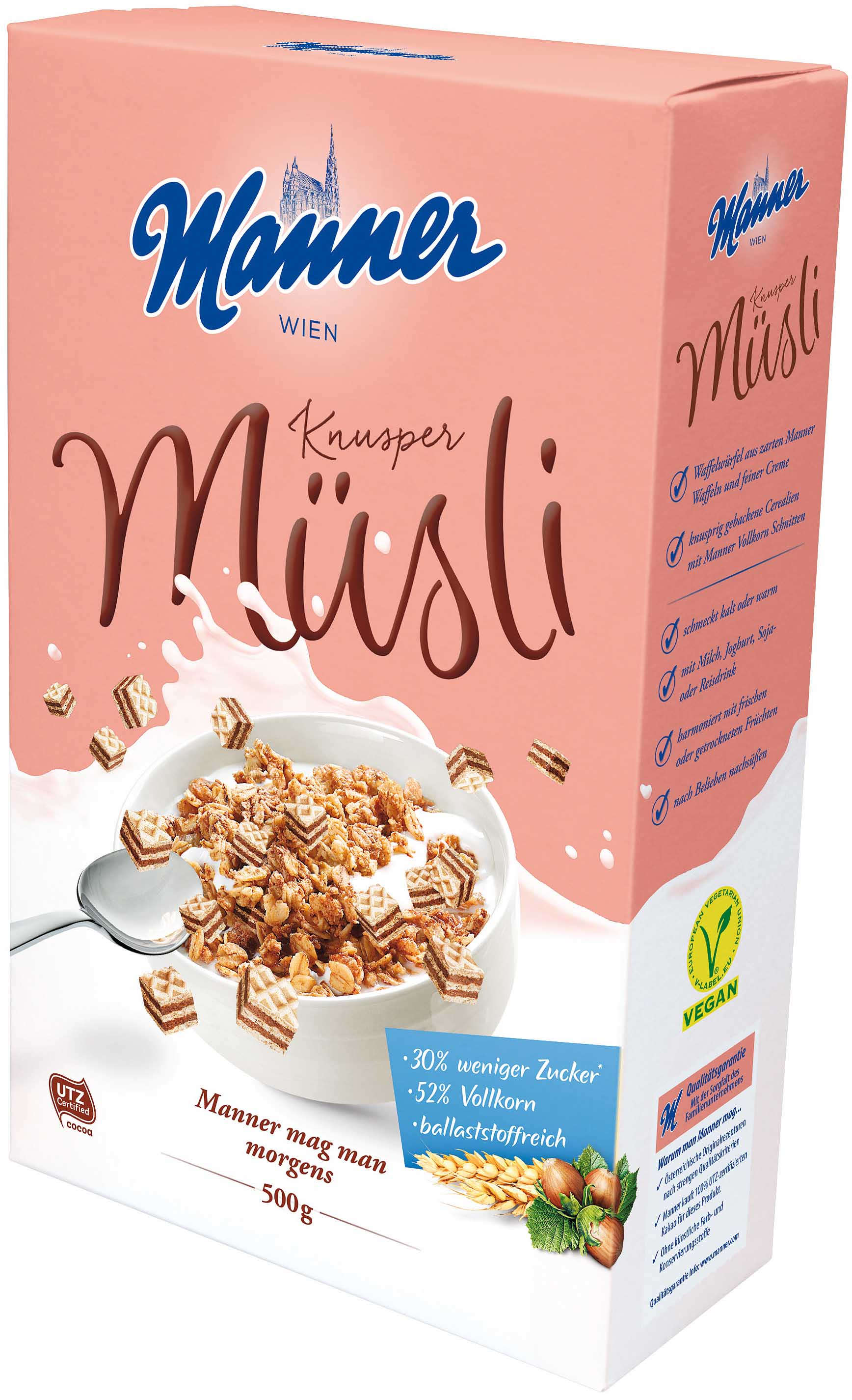 Manner Knusper Müsli 500g