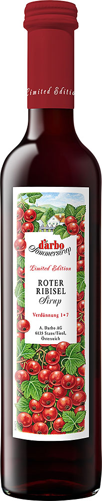 Darbo Rote Ribisel Sirup Limited Edition