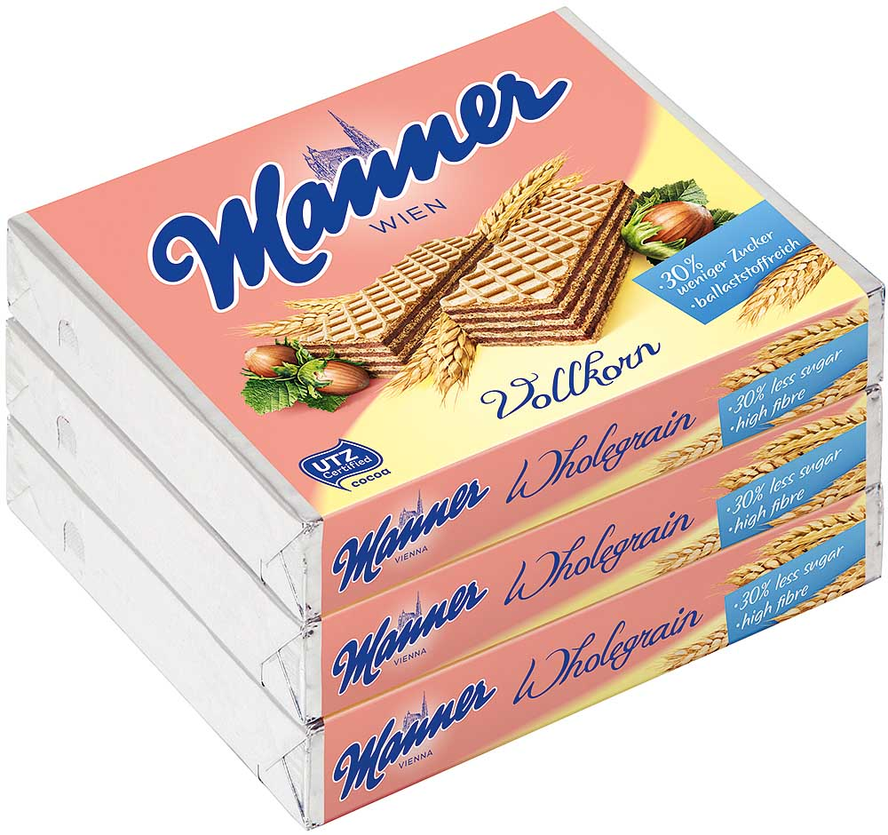 Manner Neapolitaner Vollkorn 3er