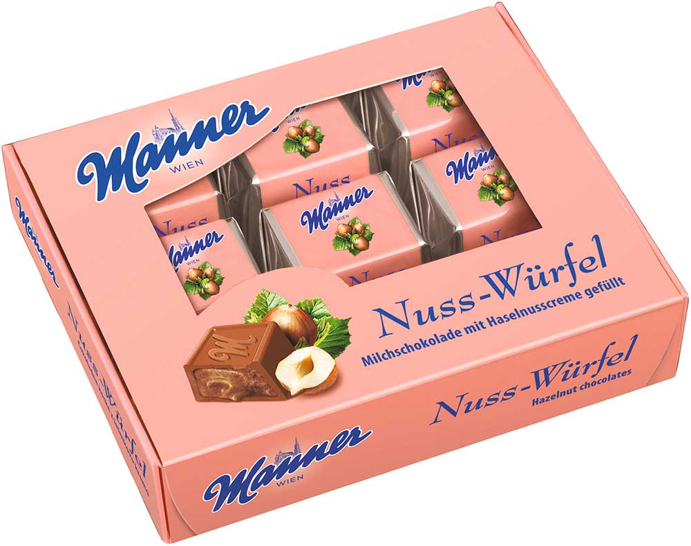 Manner Nuss-Würfel