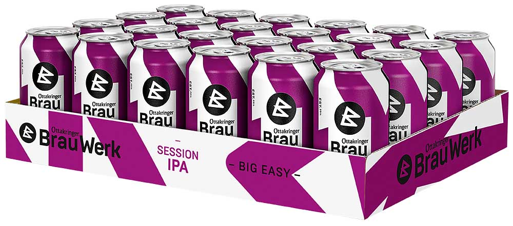 Ottakringer BrauWerk BIG EASY | Session IPA 24x0,33l