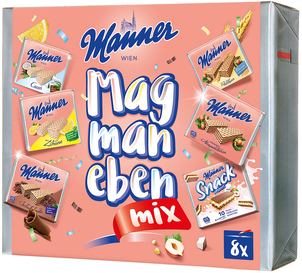 Manner Mag Man Eben Mix 8er