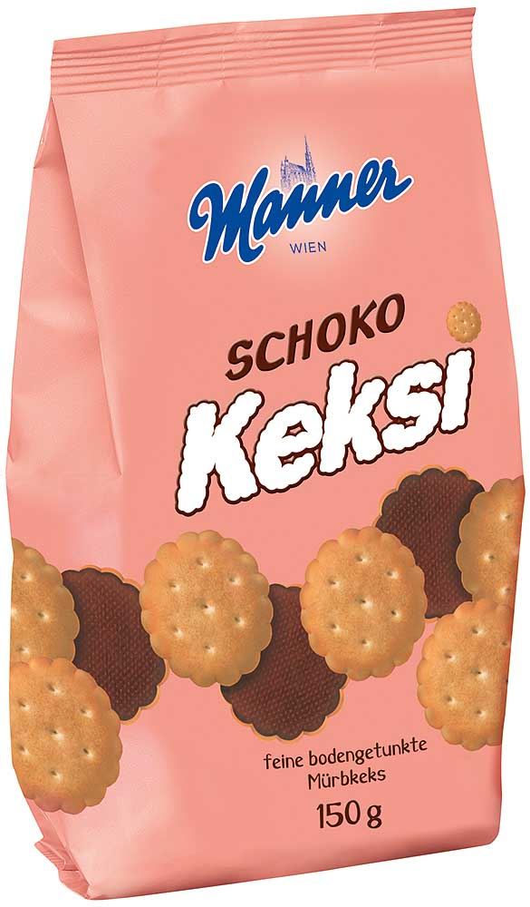 Manner Schoko-Keksi