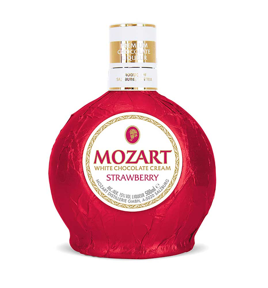 Mozart WhiteChocolate Strawberry 0,5l