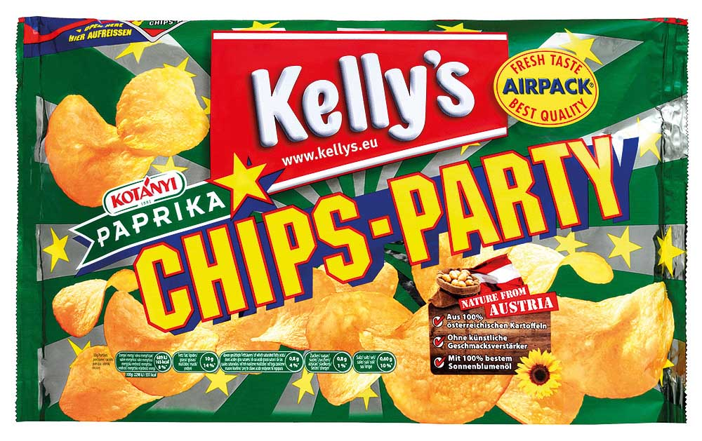 Kelly's Chips Party Paprika