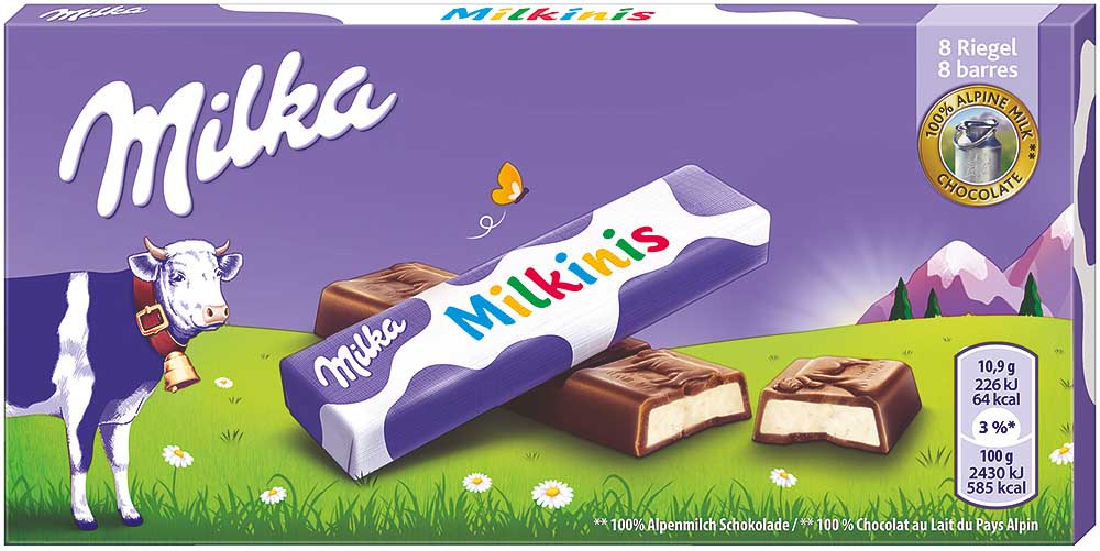 Milka Milkinis Sticks