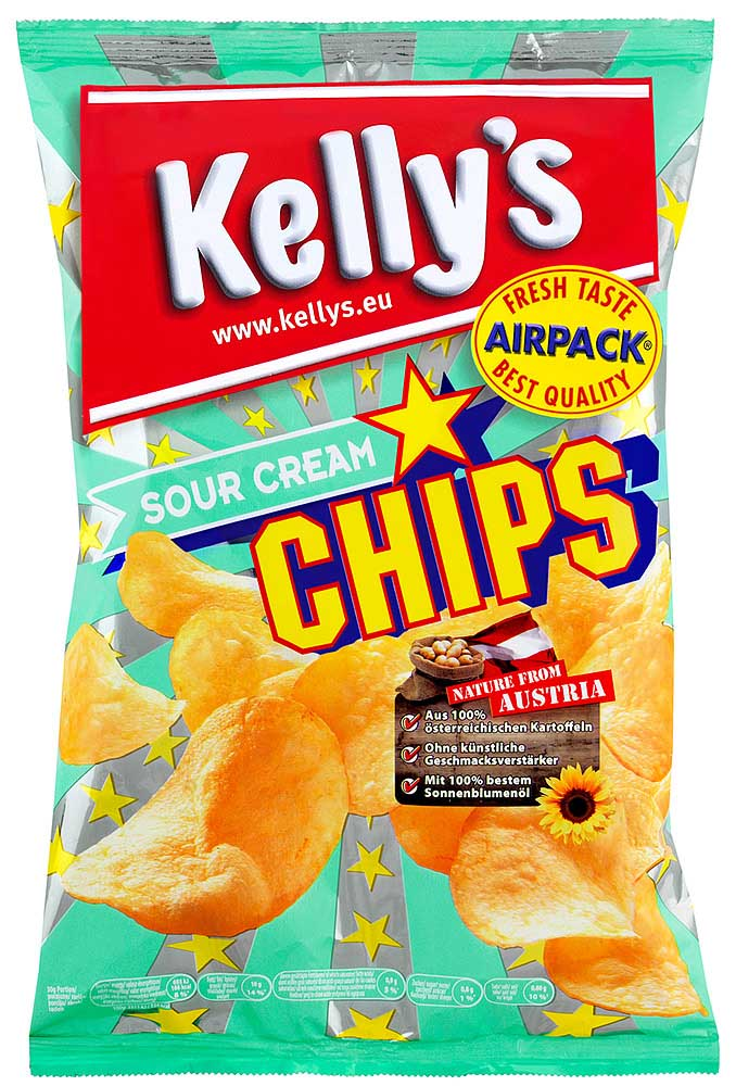 Kelly's Chips Sour Cream