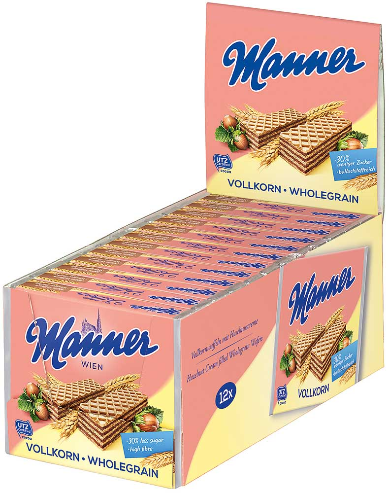 Manner Neapolitaner Vollkorn 12er Box