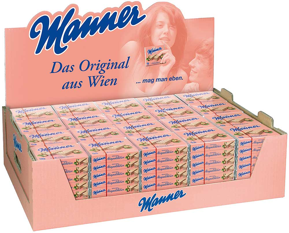 Manner Neapolitaner Schnitten 160 Stk.