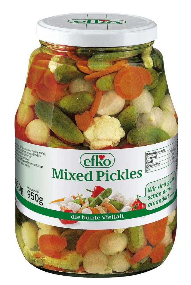 efko Mixed Pickles 1550 g