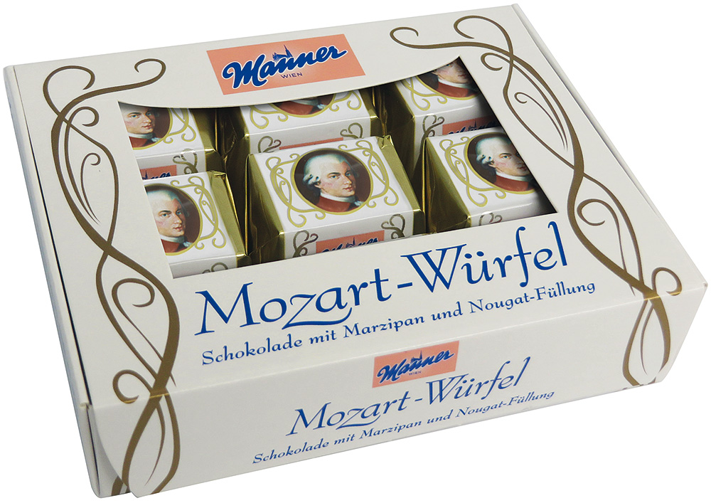 Manner Mozart Würfel
