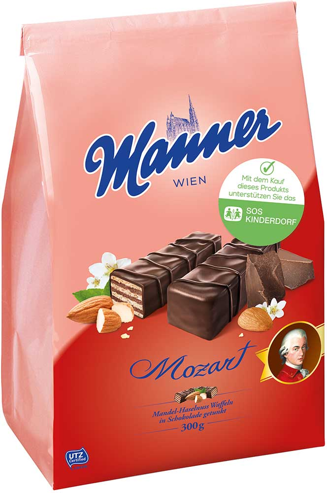 Manner Mozart Mignon Schnitten 300g