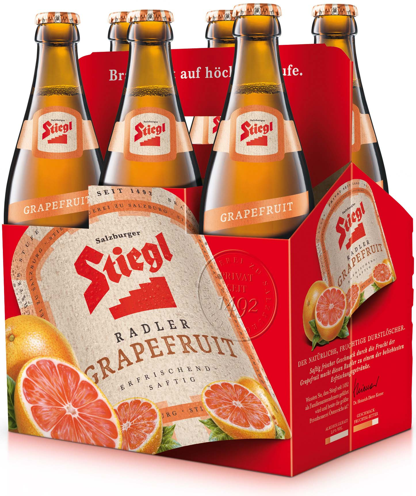 Stiegl Radler Grapefruit 6 Pack