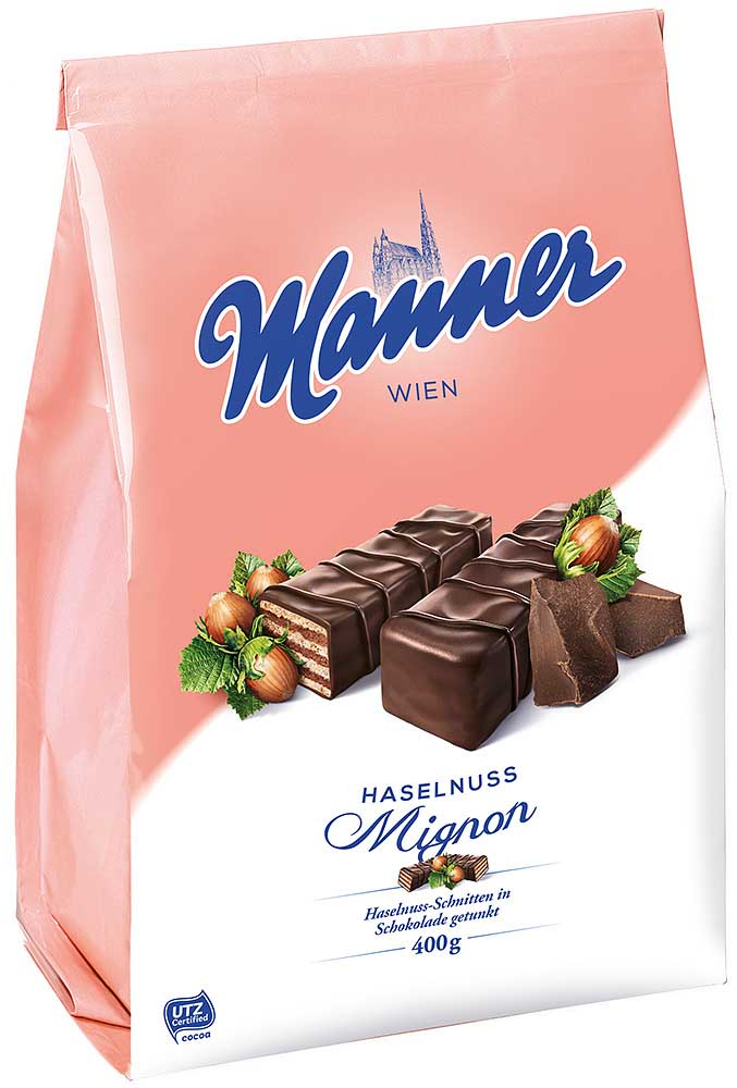 Manner Haselnuss Mignon Sack