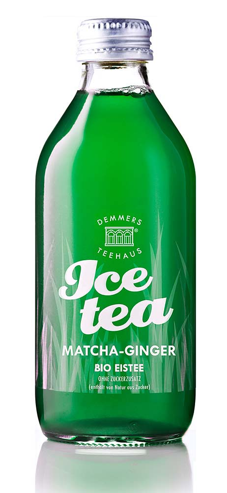Demmers BIO ICE TEA Matcha-Ginger