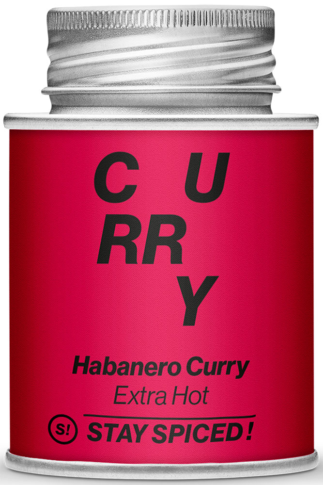 STAY SPICED! Habanero Curry - EXTRA HOT