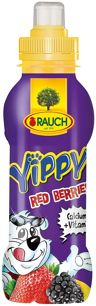 Rauch YIPPY Red Berries 0,33l PET